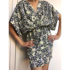 Collective concepts summer kimono mini dress XS